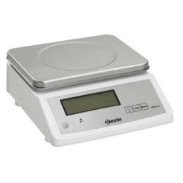 Bartscher - Elektronická kuchyòská váha - do 15 kg, dìlení stupnice 2 g