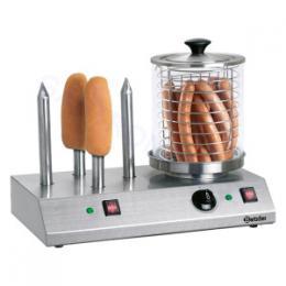 Bartscher - Elektrický pøístroj na hotdogy - 4 speciální trny na rohlíky