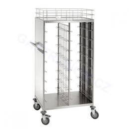 Bartscher - Vozík pøepravní/úklidový pro podnosy 443 x 343 mm