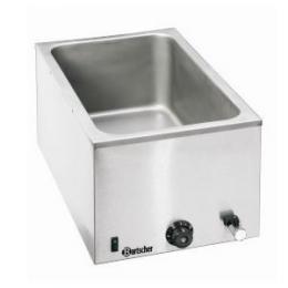 Bartscher - Vodní lázeò s výpustným kohoutem GN 1/1, hloubka 200 mm