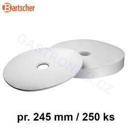 Bartscher - Filtry papírové kulaté ke kávovaru Regina 90 a PRO100T (250 kusù)